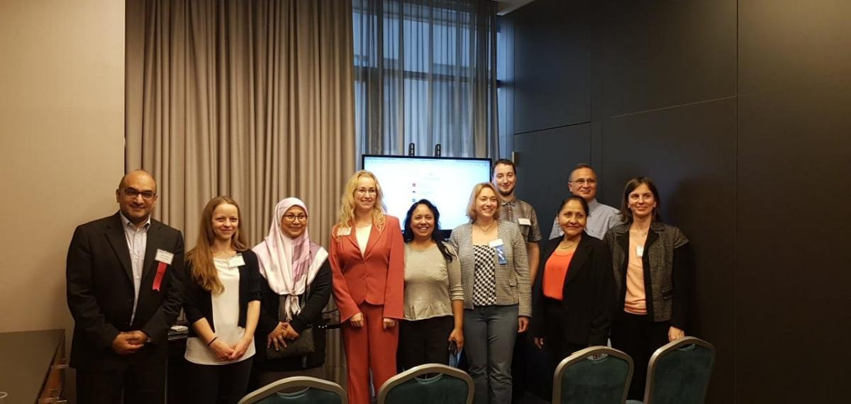 Gruppenfoto nach der Research in Education and E-Learning-Session