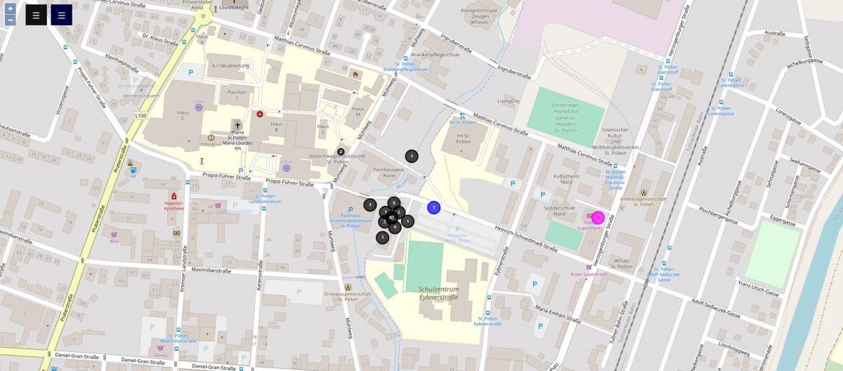 sonicontrol map vizualization