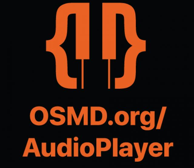Logo OSMD Audio Player